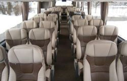 VDL coach Deluxe 45  2 seater interior